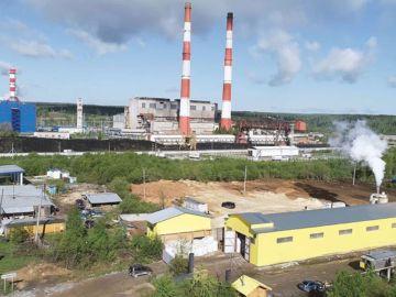 Завод в п. Яйва