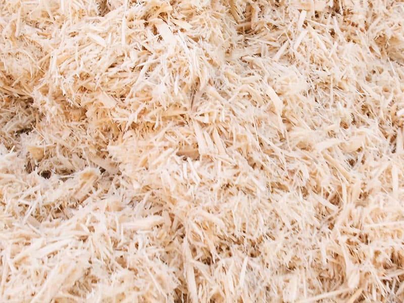 Опил, из которого будут изготовлены пеллеты