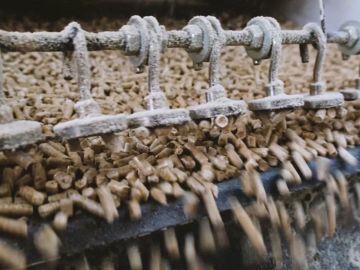 Производство светлых топливных пеллет