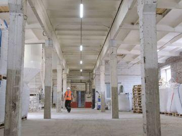 Внутренние помещения завода